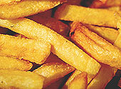 Delicious English Chips - crispy on the outside, tender, fluffy, buttery on the inside