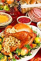 Delicious Holiday Turkey, Stuffing and Dressing!